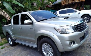 Selling 2nd Hand Toyota Hilux 2014 Automatic Diesel at 110000 km in Gumaca