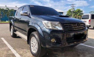 Black Toyota Hilux 2014 Manual Diesel for sale