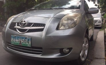 2nd Hand Toyota Yaris 2007 Hatchback at Automatic Gasoline for sale in Quezon City