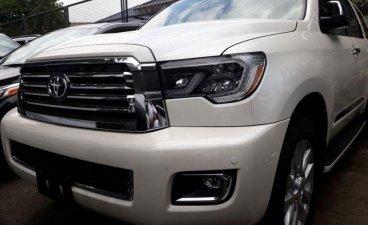 Selling White Toyota Sequoia 2019 in Marikina