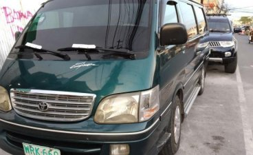 Selling 2nd Hand Toyota Hiace 2001 Manual Diesel at 120000 km in Bayambang