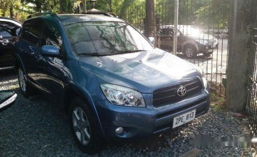 Sell Blue 2008 Toyota Rav4 Automatic Gasoline at 65000 km in Muntinlupa