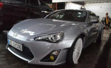 Silver Toyota 86 2016 for sale in Manila
