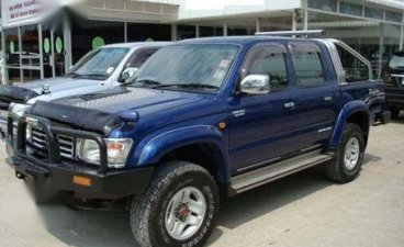 Selling 2nd Hand Toyota Hilux 1997 Manual Diesel at 130000 km in Quezon City