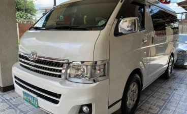 Selling Toyota Hiace 2011 Automatic Diesel in Quezon City