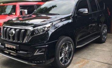 Selling Black Toyota Land Cruiser Prado 2016 Automatic Gasoline at 10000 km in Pasig