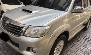 2014 Toyota Hilux Automatic for sale in Quezon City