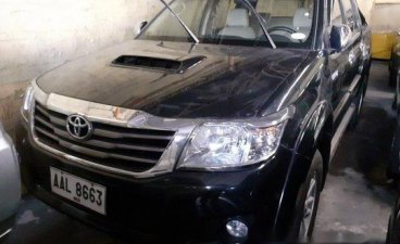 Sell Black 2014 Toyota Hilux Automatic Diesel at 57800 km