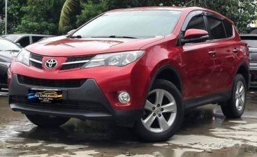 Red Toyota Rav4 2014 for sale in Makati