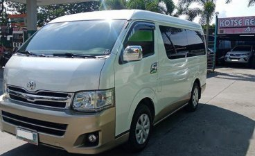 White Toyota Hiace 2011 for sale in Meycauayan