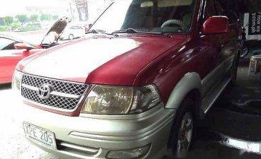 Red Toyota Revo 2004 Manual Gasoline for sale