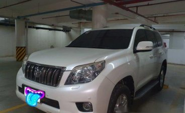 White Toyota Land Cruiser Prado 2010 Automatic Diesel for sale