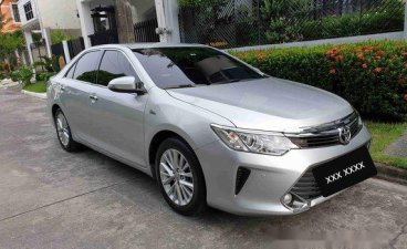 Silver Toyota Camry 2016 Automatic Gasoline for sale