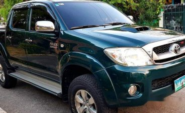 Selling Green Toyota Hilux 2010 in Quezon City