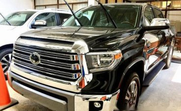 Black Toyota Tundra 2019 Automatic Gasoline for sale