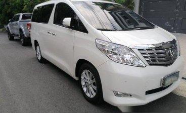 White Toyota Alphard 2011 for sale