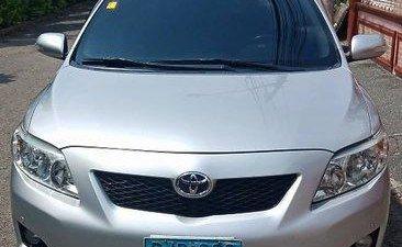 Silver Toyota Corolla Altis 2009 Automatic Gasoline for sale