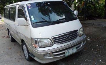 2003 Toyota Hiace for sale in Rizal