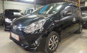 Sell Black 2018 Toyota Wigo in Quezon City