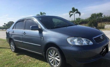 Blue Toyota Corolla 2004 Automatic Gasoline for sale