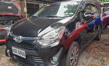 Black Toyota Wigo 2018 at 6800 km for sale
