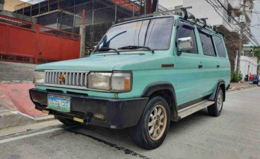 Green Toyota tamaraw 1996 Manual Gasoline for sale