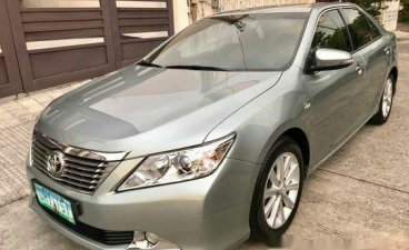 Silver Toyota Camry 2013 Automatic Gasoline for sale