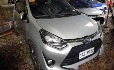 Sell Silver 2018 Toyota Wigo at 24759 km