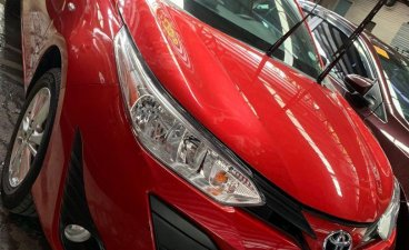 Sell Red 2018 Toyota Yaris in Quezon City