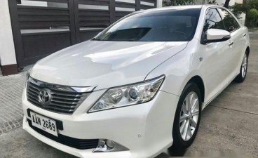 Selling White Toyota Camry 2015 in Parañaque