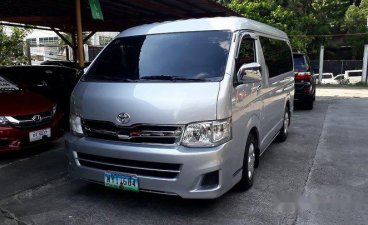Selling Silver Toyota Hiace 2013 in Pasig