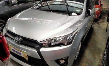 Sell Silver 2016 Toyota Yaris in Quezon City