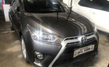 Selling Grey Toyota Yaris 2016 in Quezon City