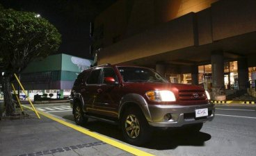Sell Red 2003 Toyota Sequoia in Quezon City