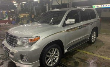Silver Toyota Land Cruiser 2013 for sale in Pasig