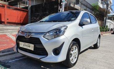 Sell Silver 2018 Toyota Wigo in Quezon City