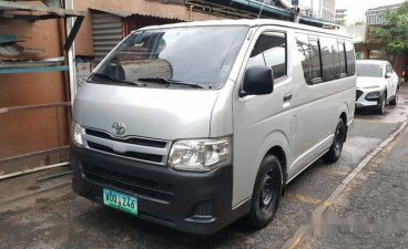 Selling Silver Toyota Hiace 2014 in Pasig
