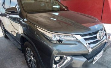 Grey Toyota Fortuner 2016 for sale in Automatic