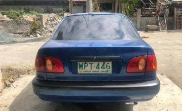 Blue Toyota Corolla altis 2000 for sale in Antipolo