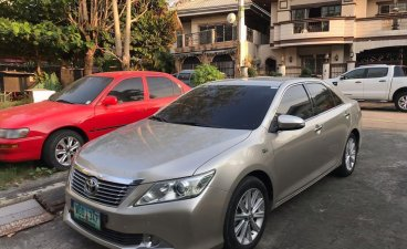 Grey Toyota Camry 2013 for sale in Automatic