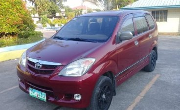 Red Toyota Avanza 2008 for sale in Manual