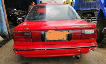 Sell Red 1991 Toyota Corolla in Tanza