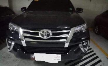 Selling Black Toyota Fortuner 2019 in Cebu City