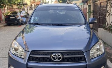 Blue Toyota Rav4 2011 for sale in Automatic