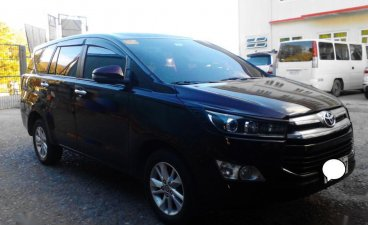Black Toyota Innova 2018 for sale in Automatic