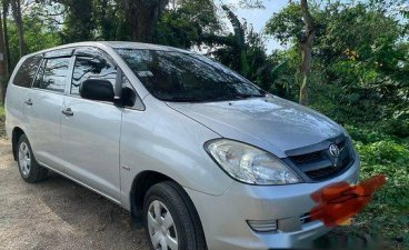 Silver Toyota Innova 2006 Manual for sale
