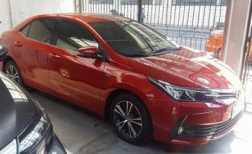 Red Toyota Corolla altis 2017 for sale in Automatic