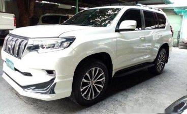 White Toyota Land Cruiser Prado 2013 for sale in Quezon City