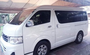 Pearl White Toyota Grandia 2013 for sale in Malabon