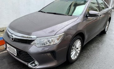 Grey Toyota Camry 2016 for sale in Manila